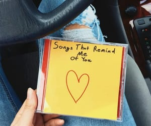 music, songs, and yellow image