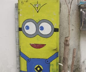 coloring, drawing, and minion image