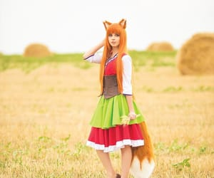 cosplay, hairstyle, and orange hair image