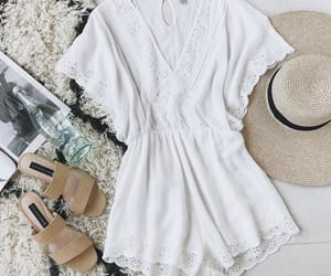 beach, pretty, and spring image