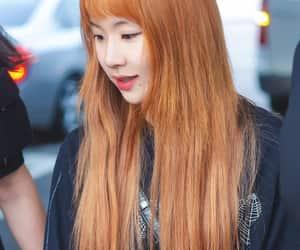 kpop, orange hair, and red velvet image