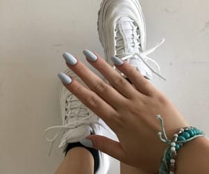 accessories, blue, and nails image