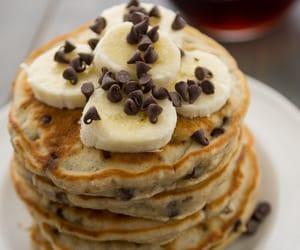 banana, pancakes, and love image