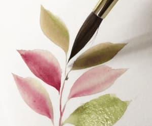 gif, hojas, and animado image