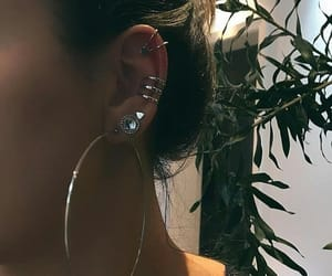 brinco, ear, and earring image