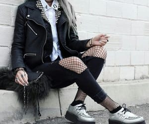 alternative, black, and rock and roll image