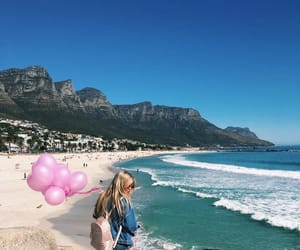 beach, capetown, and bliss image
