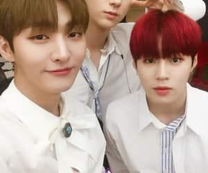 hwang minhyun, wanna one, and kim jaehwan image