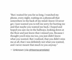 depressing, love quote, and love quotes image