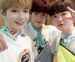 wanna one, kim jaehwan, and park woojin image