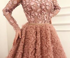 beauty, night dress, and dress image
