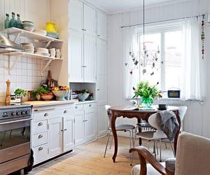 cozinha, renda, and suadecoracao image