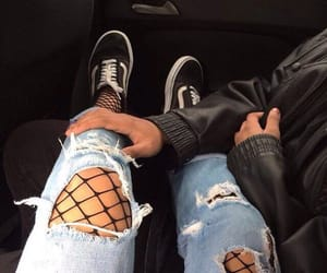 tumblr, couple, and outfit image