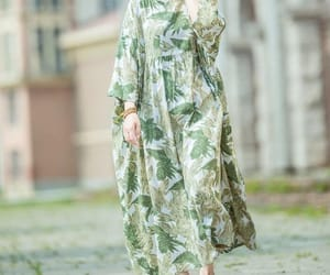 etsy, flower dress, and summer dress image