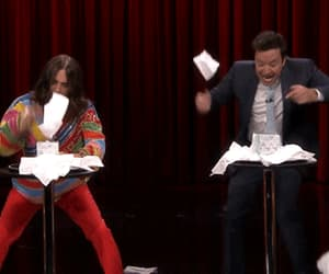 30 seconds to mars, jimmy fallon, and gif image