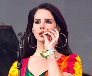 lana del rey, lana, and cigarette image