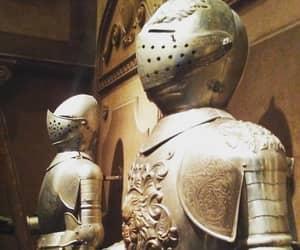 armor, magic kingdom, and fantasyland image