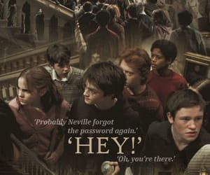 harry potter, ron weasley, and dean thomas image