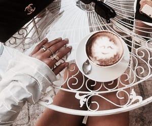 coffee, chic, and fashion image