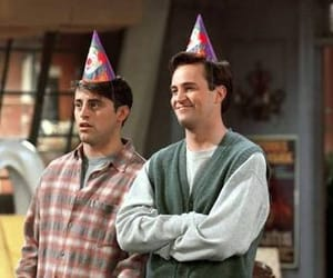 chandler, Joey, and friends image