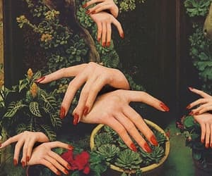 art, hands, and nails image