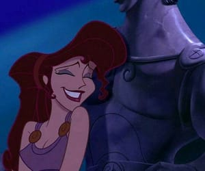 hercules, disney, and meg image