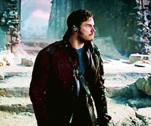 guardians of the galaxy, peter quill, and gif image