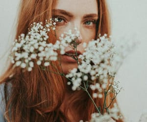 edit, flowers, and ginger image
