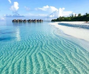 travel, beach, and ocean image
