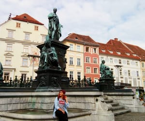 austria, red hair, and graz image