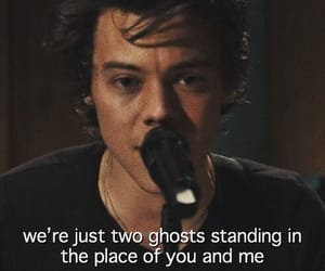 two ghosts and Harry Styles image
