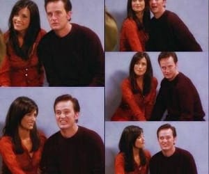 chandler, laugh, and monica image