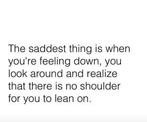 alone, feeling, and heartbreak image