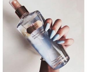 nails, Victoria's Secret, and perfume image