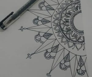 Desenhos, drawings, and flores image