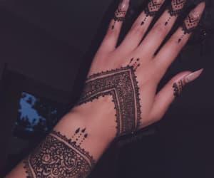 henna, indian, and mehndi image