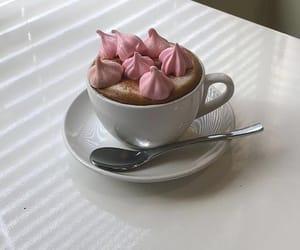 breakfast, cappuccino, and meringue image