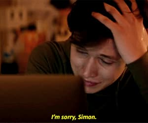 gif, simon, and love simon image