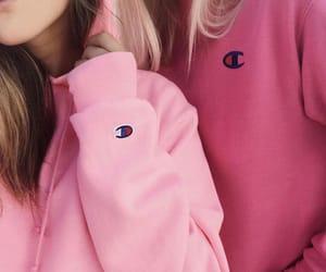 amizade, pink, and rosa image