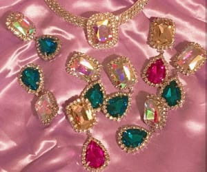 jewelry, jewels, and pink image