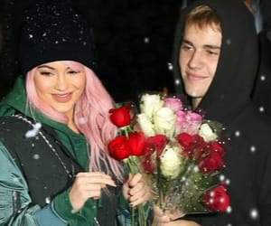 couple, edit, and justin bieber image