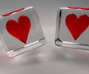 heart love dice image