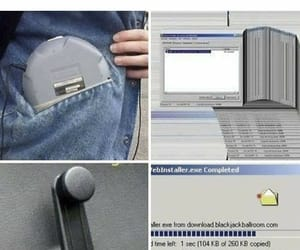 life, walkman, and dial up internet image
