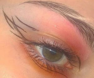 eye, makeup, and style image
