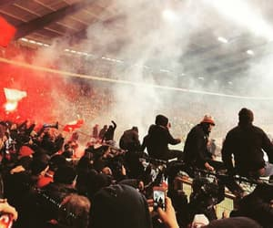 football, game, and hooligans image
