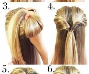 blonde, hair, and hair tuto image