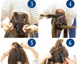 hair, hair tuto, and tuto image