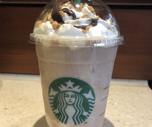 food, frapuccino, and 😋 image