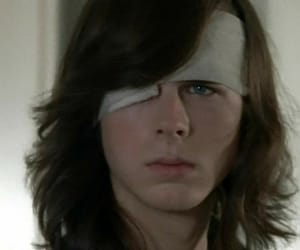 boy, the walking dead, and chandler riggs image