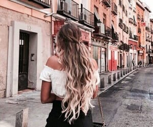 hair, fashion, and city image
